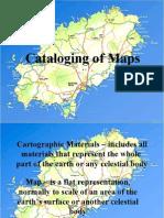 Cataloging Maps