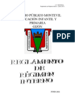 REGLAMENTO DE RÉGIMEN INTERNO (1)