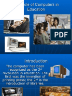 The Role of Computers in Education