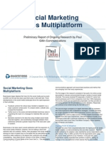 Social Marketing Goes Multi Channel