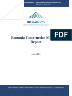 Intellinews - Romania Construction Materials Report