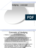 Concepts of Hedging