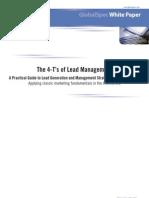 The 4 Ts LeadMgtWhitePaper