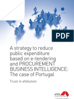 A strategy to reduce public expenditure based on e-tendering and procurement Business Inteligence.