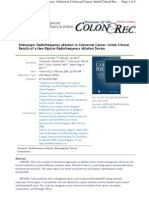 HabibTM Endoblate Endoscopic Radio Frequency Ablation in Colorectal Cancer
