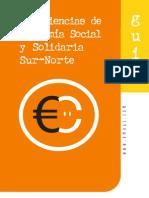 EMAUSyREAS Guia Experiencias Economia Social y Solidaria Sur-norte