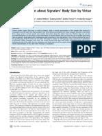 Faragó et al. - 2010 - PLoS ONE