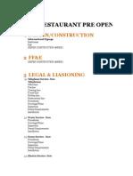 WESOL Restaurant Task Lists & Check List Complete With Samples v2003
