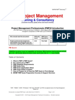 PMP Revised Exam Introduction MV Project Management v6