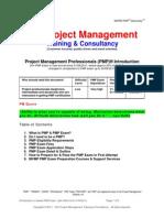 PMP Revised Exam Introduction MV Project Management v6