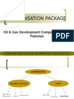 compensation package at ogdcl pakistan