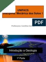 1.1 Introdução a geologia