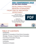 Front End of Innovation