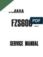 Yamaha FZS600 Fazer 1998 Service Manual
