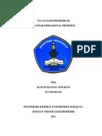 Tugas Standart Operasional Prosedur