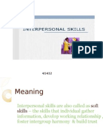 Interpersonal Skill Presentation