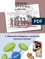 A DIMENSÃO SOCIOCULTURAL DA MENTE - Cópia