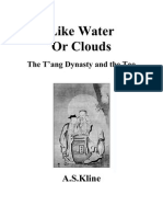 Like Water or Clouds- The Tang Dynasty