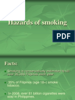 Hazards of Smoking