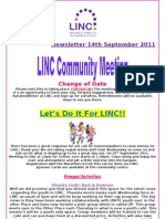 Newsletter 14th September