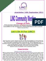 Newsletter 14th September
