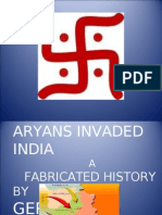 Aryans Invasion Myth- Invasion That Never Happened