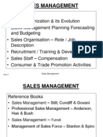 1. Sales Management