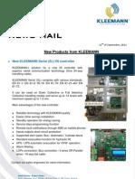 Kleemann NewsFax/Mail (092011) english version