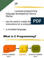 C++ Lesson # 1 - Intro