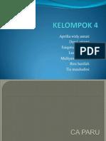 KELOMPOK 4 CA PARU