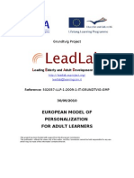 Leadlab Model of Personalization