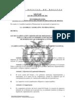 LEY 154 Ley de Clasificacion y Definición de Impuestos y de Regulación para la Creación y/o Modificación de Impuestos de Dominio de los Gobiernos Autónomos