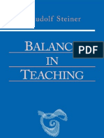 Balance in Teaching