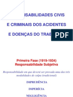 9_Responsabilidades Civis e Criminais dos Acidentes e Doenças