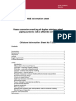 SCC of Duplex Stainless Steel