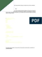 Algoritmo en MATLAB para la aproximación lineal por el método de los mínimos cuadrados