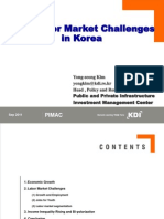 New Labor Market Challenges in High Income Korea