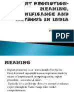 Export Meaning, Significance and Methods in India
