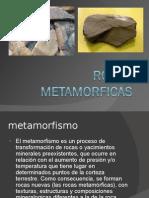 rocas metamorficas