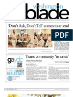 washingtonblade.com - volume 42, issue 37 - september 16, 2011