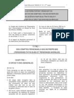Principes Juridiques Du Systeme Comptable OHADA