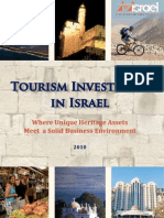 Tourism Investment Israel
