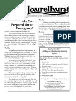 Laurelhurst Neighborhood Association Newsletter - September 2011