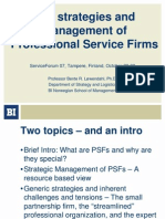 Lowendahl_SF07_TheStrategiesAndManagementOfProfessionalServiceFirms