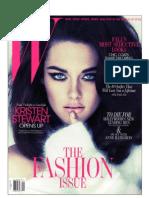 W Magazine - September 2011
