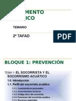 TEMA 1 EL SOCORRISTA Y EL SOCORRISMO ACUÁTICO