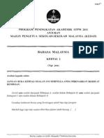 2011 PSTPM Kedah Bm 2 w Ans