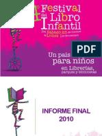 Informe 4 Festival LIJ