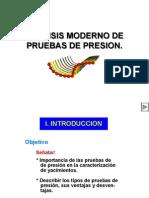 Analisis Moderno de Pruebas de Presion