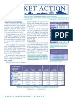August 2011 Market Action Report Portland Oregon Home Statistics
